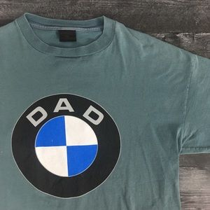 1990s BMW Logo Dad T-shirt by Changes